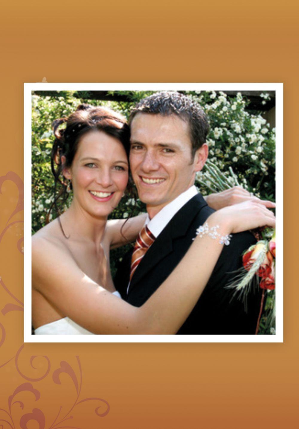 Ansicht 2 - Hochzeit Danke 3 Glücksgriff