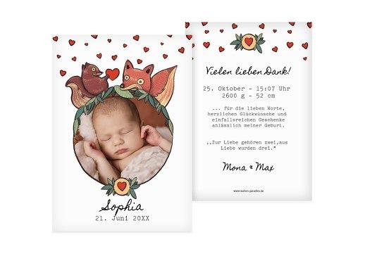 babydankeskarten