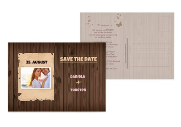 Save-the-Date Steckbrief