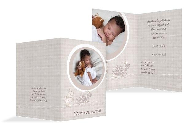 Babykarte Schildi