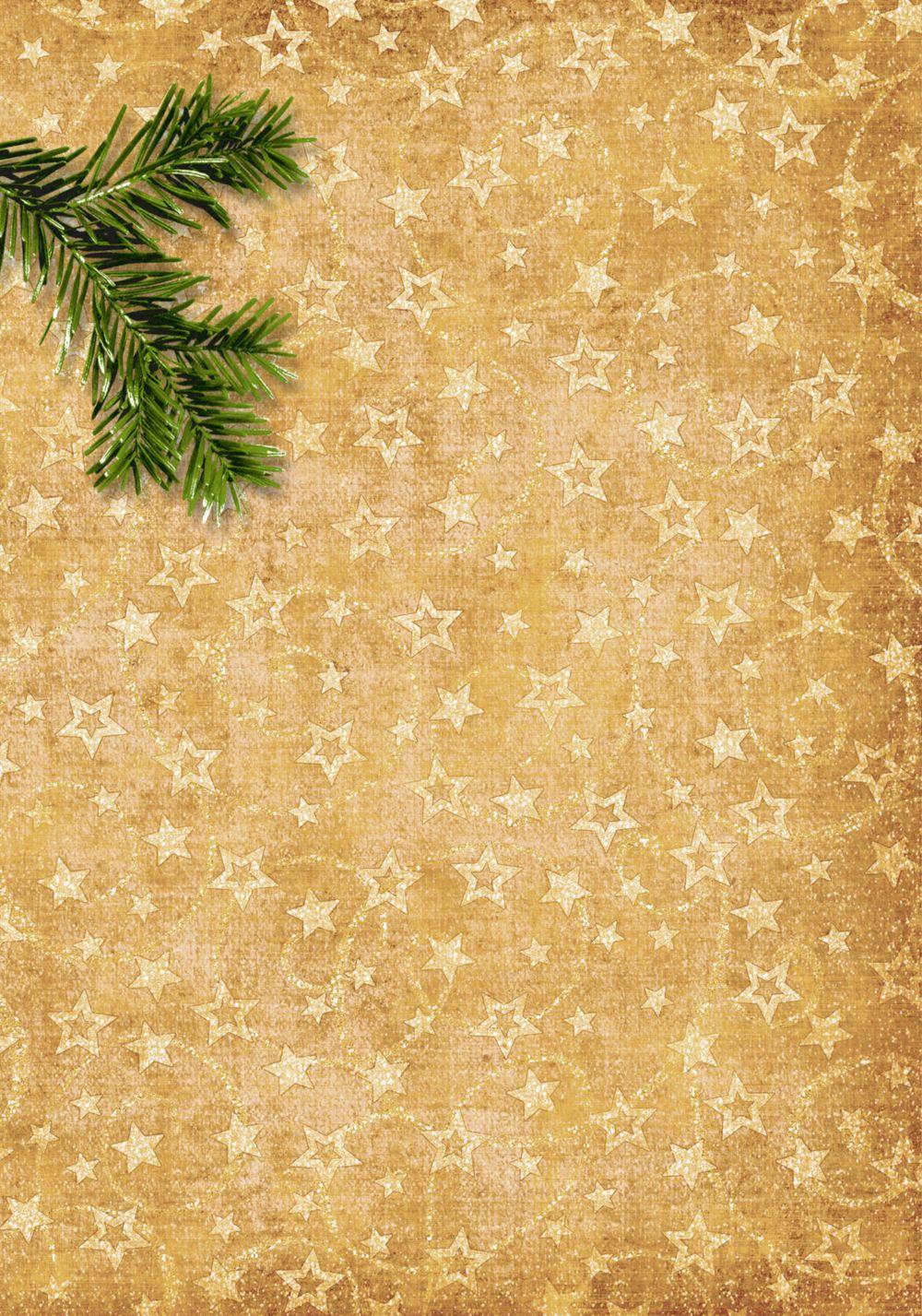 Ansicht 2 - Menükarte Goldenes Geschenk