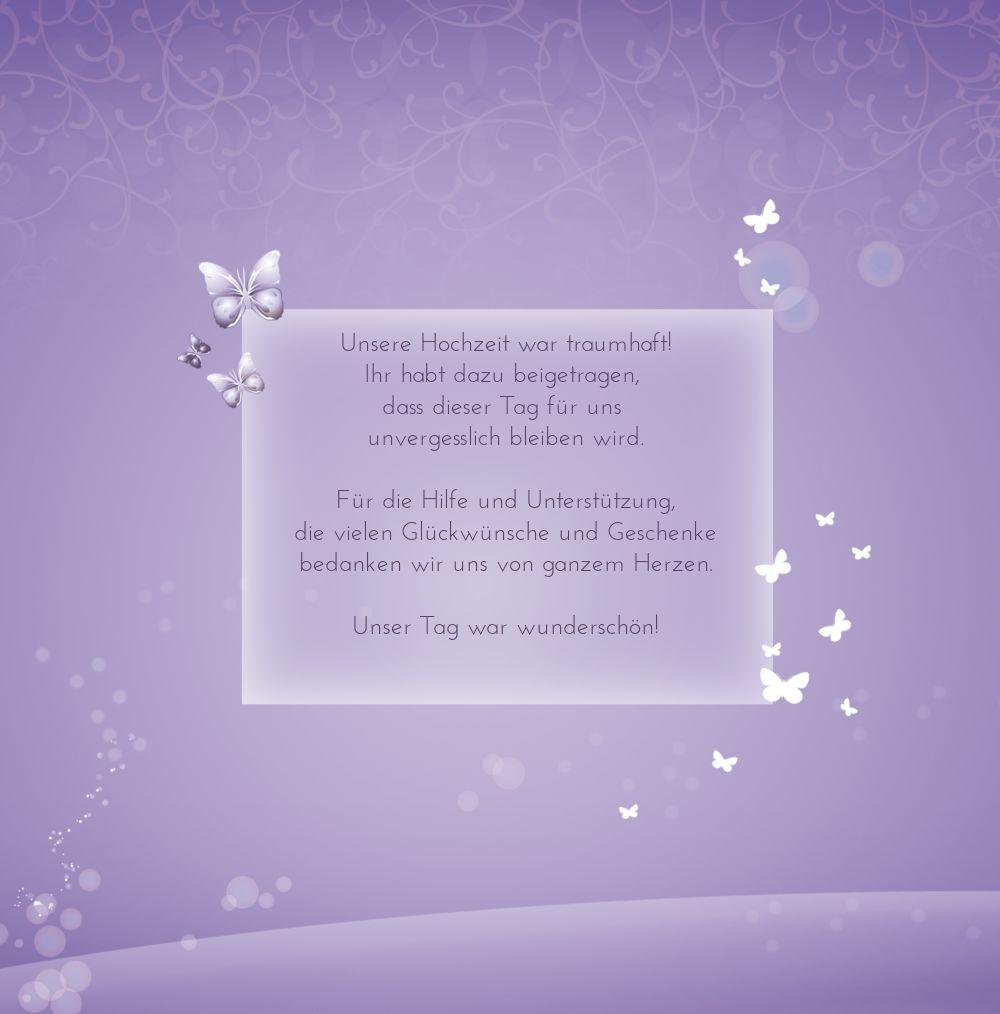 Ansicht 4 - Hochzeit Danke Dream
