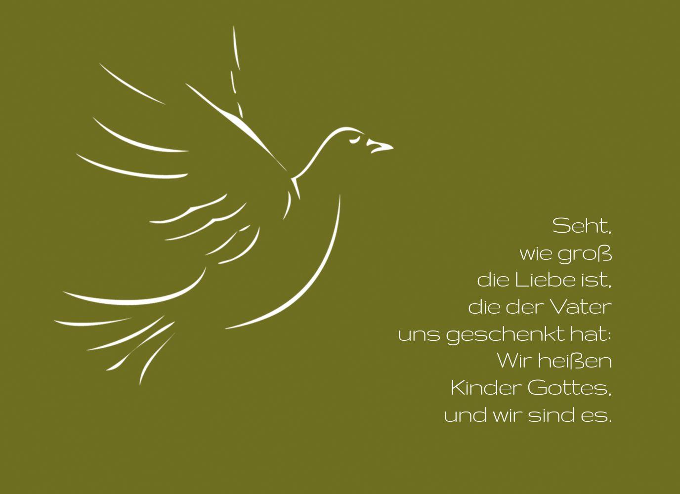Ansicht 3 - Konfirmation Einladung Pigeon