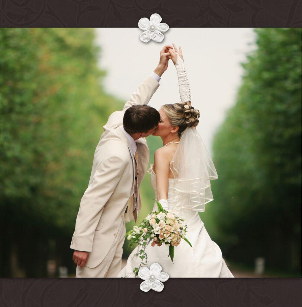 Ansicht 4 - Hochzeit Dankeskarte sanfte Blüte