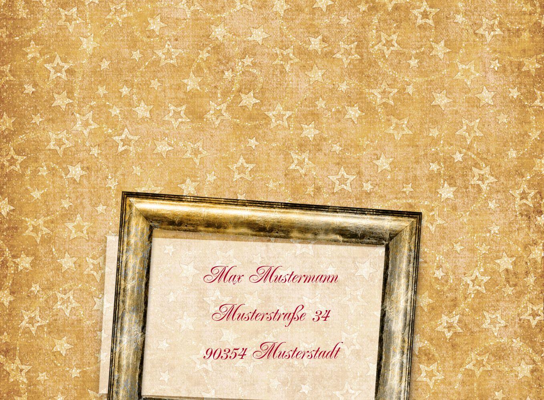 Ansicht 3 - Foto Einladung Goldenes Geschenk