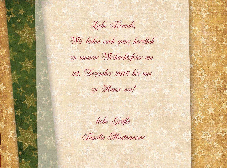 Ansicht 6 - Foto Einladung Goldenes Geschenk