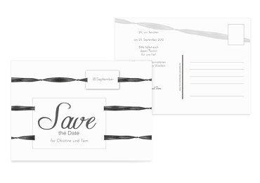 Save-the-Date loop label