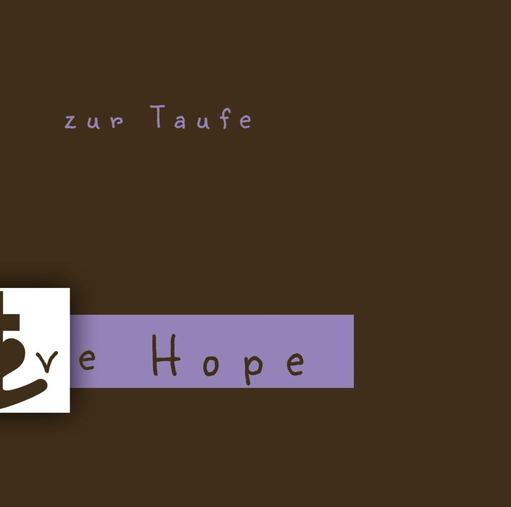 Ansicht 2 - Taufe faith love hope