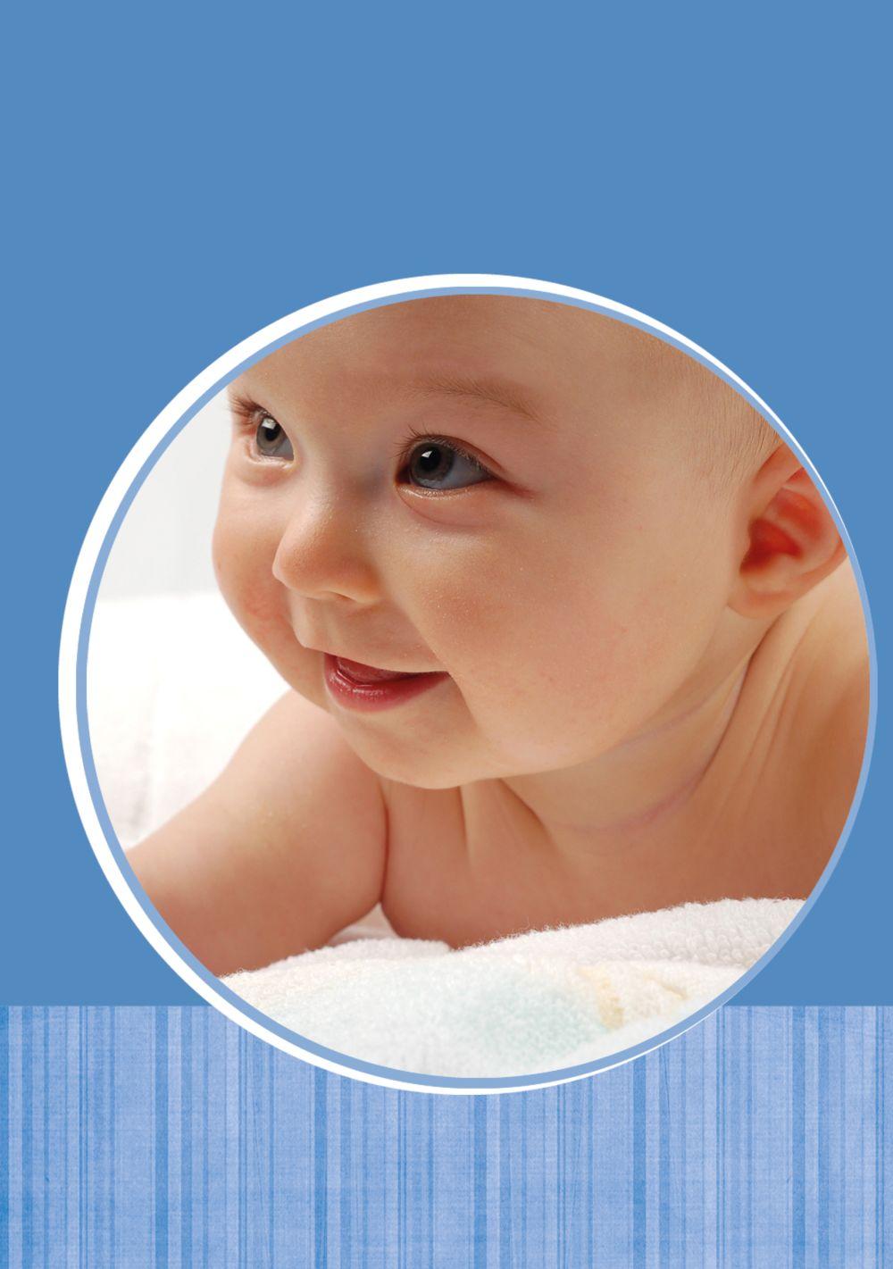 Ansicht 4 - Baby Dankeskarte Streifentapete