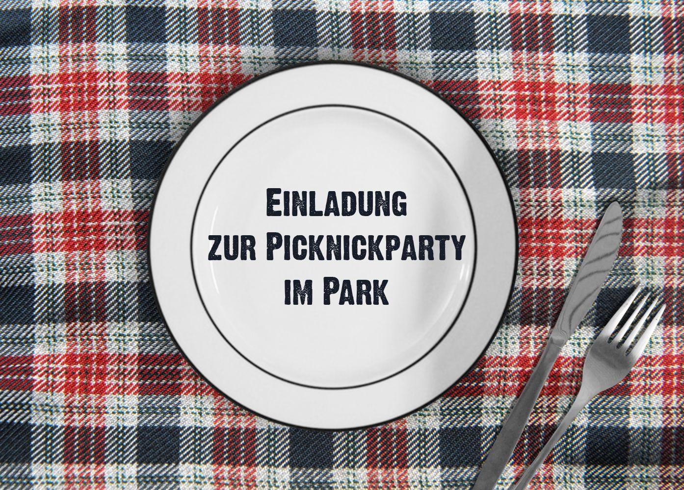 Ansicht 2 - Einladung Sommerfest Picknickdecke