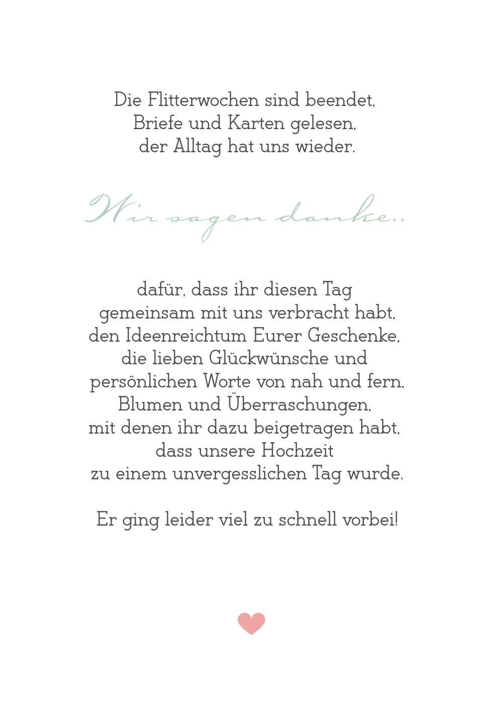 Ansicht 5 - Hochzeit Dankeskarte Zarte Ranke