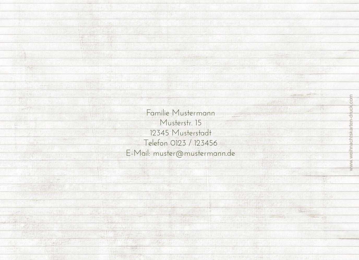 Ansicht 2 - Einladung Schnipselbäume