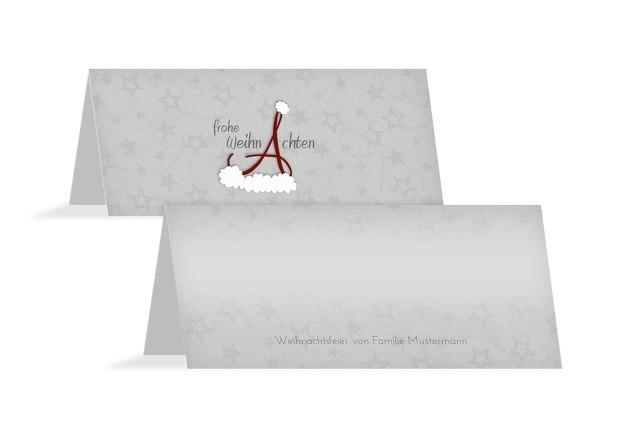 Tischkarte A_Mütze