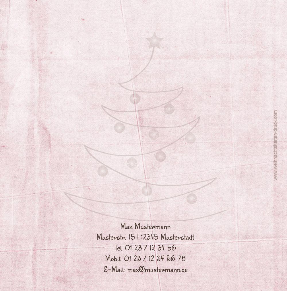 Ansicht 2 - Einladung Weihnachtsbaum