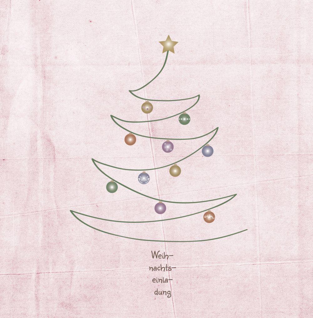 Ansicht 4 - Einladung Weihnachtsbaum