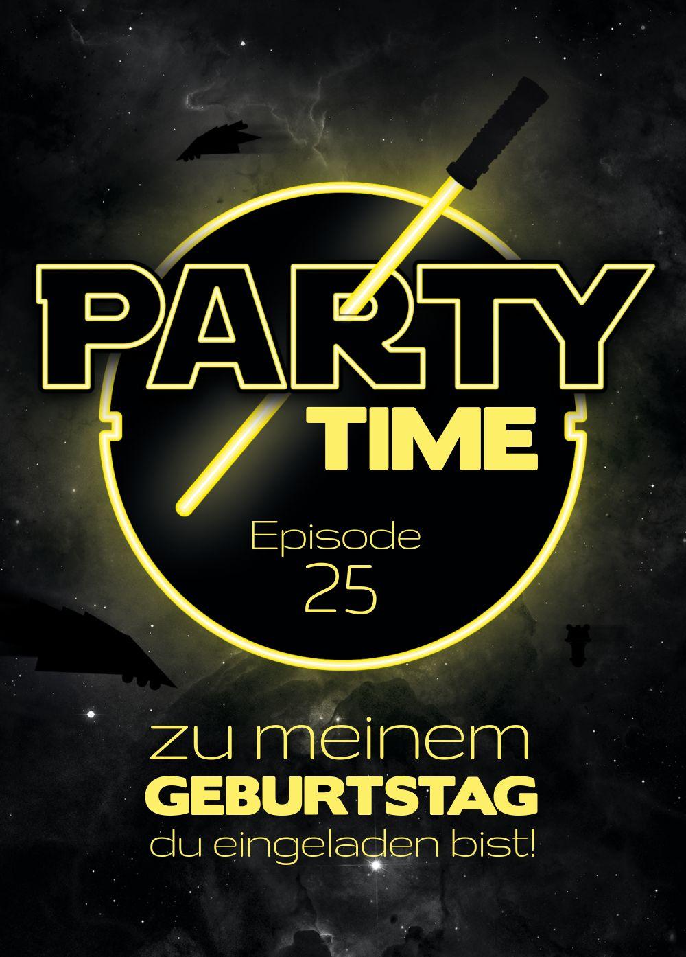 Ansicht 2 - Geburtstagseinladung Partytime