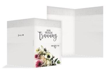 Kirchenheft Umschlag Bouquet
