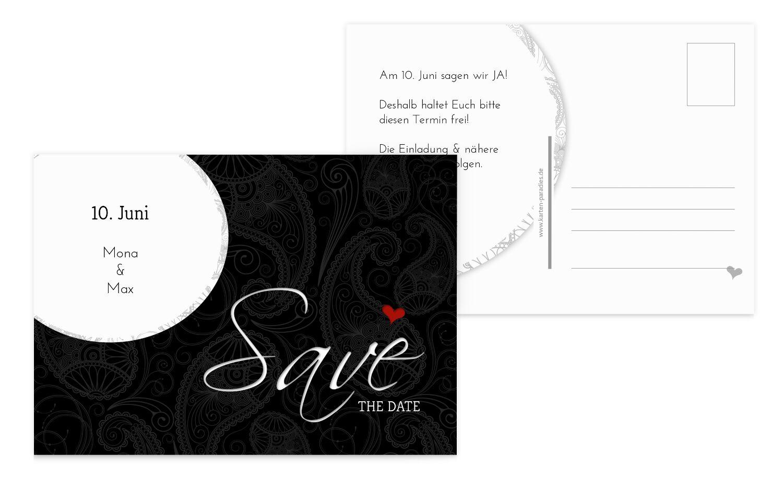 Hochzeit Save the Date Traumhochzeit